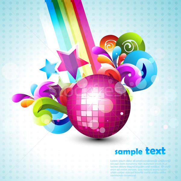 vector disco ball Stock photo © Pinnacleanimates