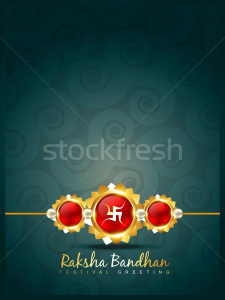 creative indian rakhi Stock photo © Pinnacleanimates