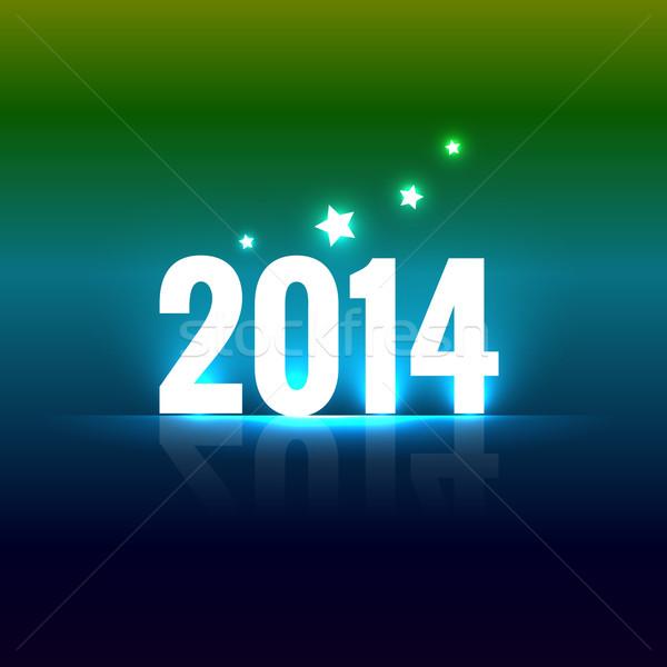 colorful happy new year Stock photo © Pinnacleanimates