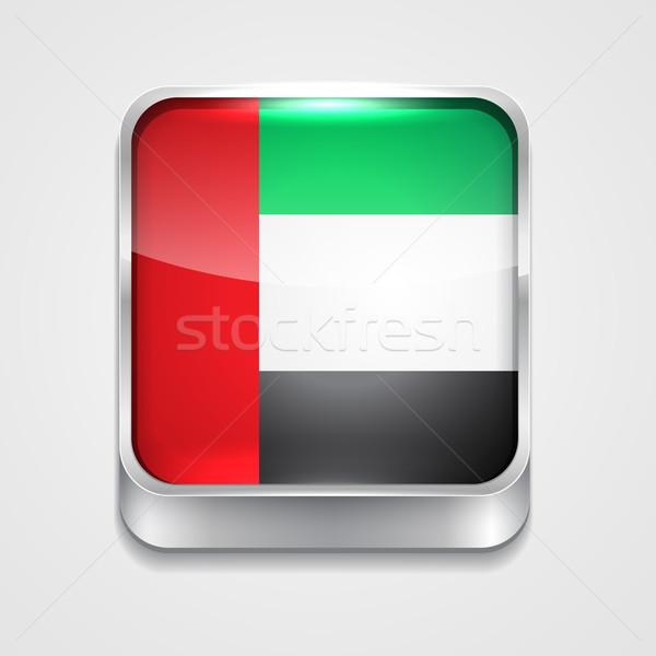 flag of united arab emirates Stock photo © Pinnacleanimates