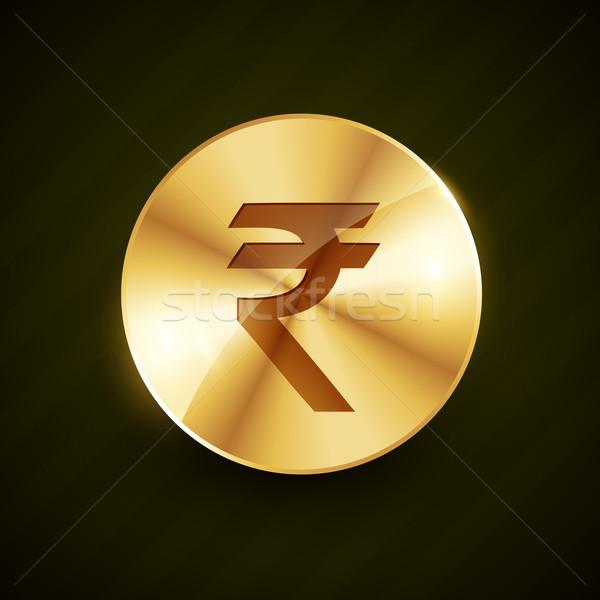 インド 金貨 効果 抽象的な 銀行 ストックフォト © Pinnacleanimates