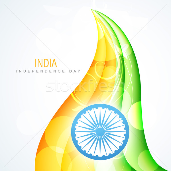 creative indian flag Stock photo © Pinnacleanimates