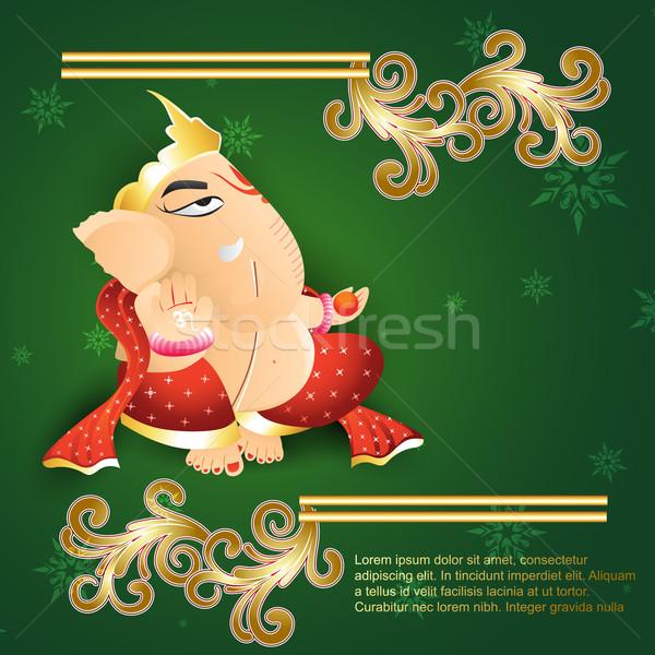 ganesh ji Stock photo © Pinnacleanimates