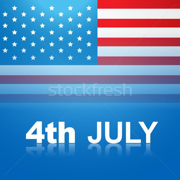 july 4th america Stock photo © Pinnacleanimates