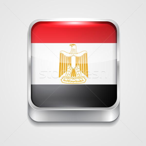 flag of egypt Stock photo © Pinnacleanimates