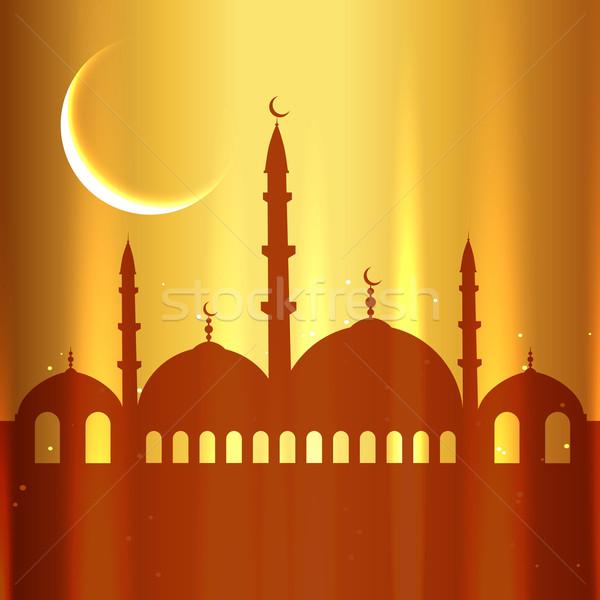 golden eid festival Stock photo © Pinnacleanimates