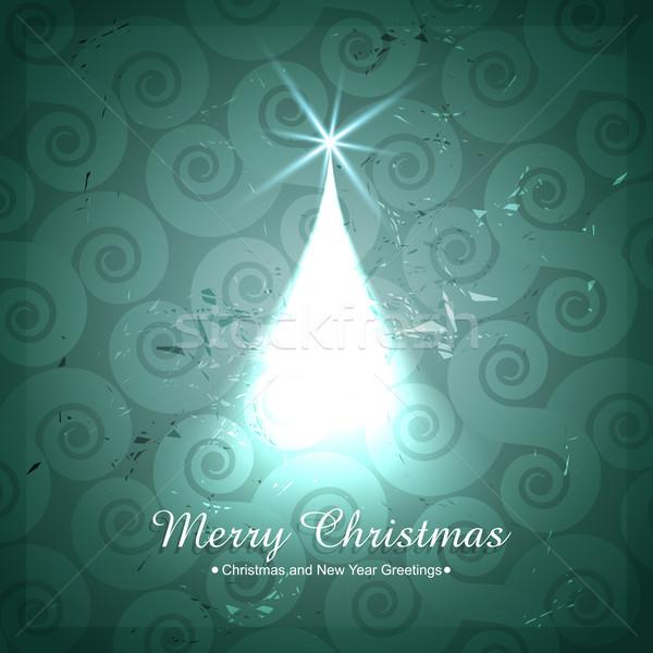 creative christmas tree design Stock photo © Pinnacleanimates