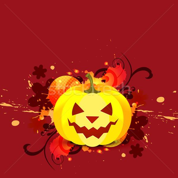 Halloween vektör dizayn örnek arka plan karanlık Stok fotoğraf © Pinnacleanimates