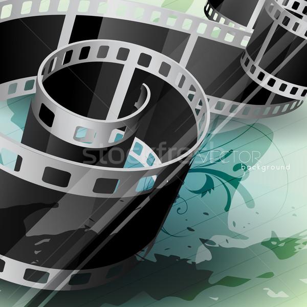 vector film reel Stock photo © Pinnacleanimates