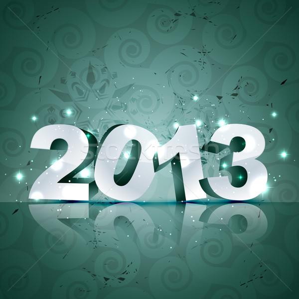 vector happy new year design Stock photo © Pinnacleanimates