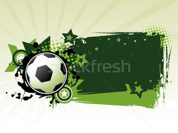 Football background vector Stock photo © Pinnacleanimates