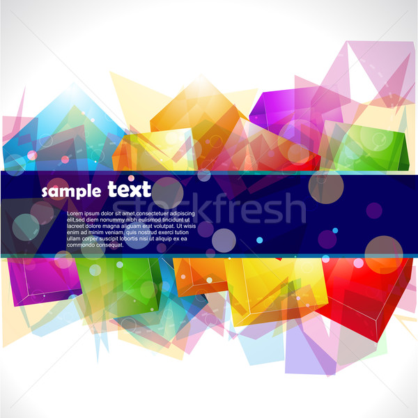 abstract colorful vector eps10 artwork Stock photo © Pinnacleanimates
