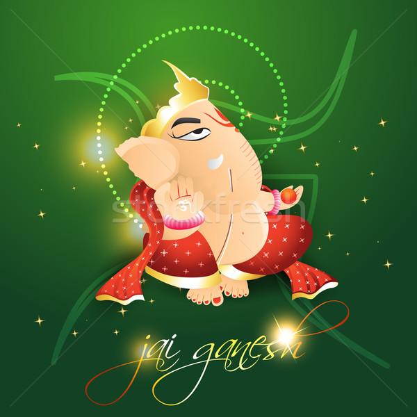 lord ganesh Stock photo © Pinnacleanimates