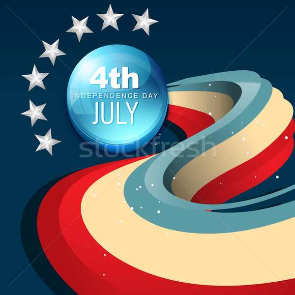 Stock photo: july 4th america
