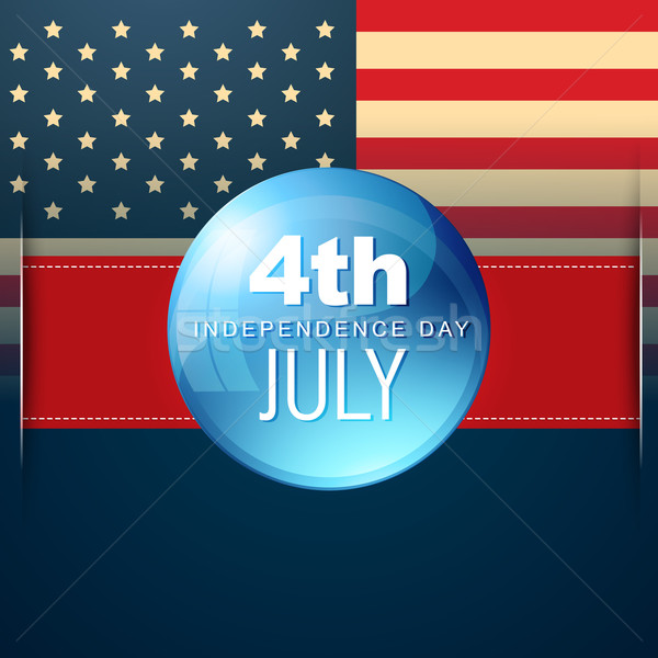 4th of july vector Stock photo © Pinnacleanimates