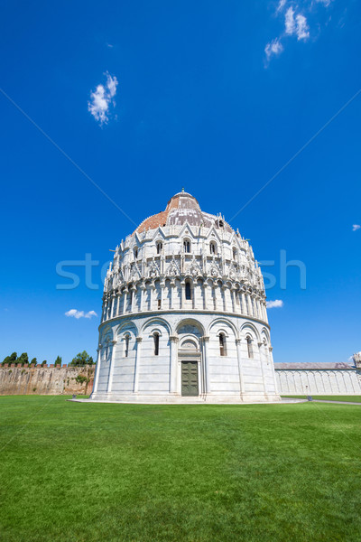 Battistero Pisa, Piazza del Duomo Stock photo © pixachi