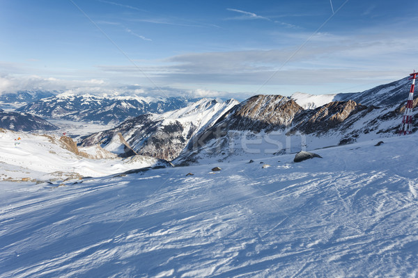 Ski slopes in Kaprun resort Stock photo © pixachi