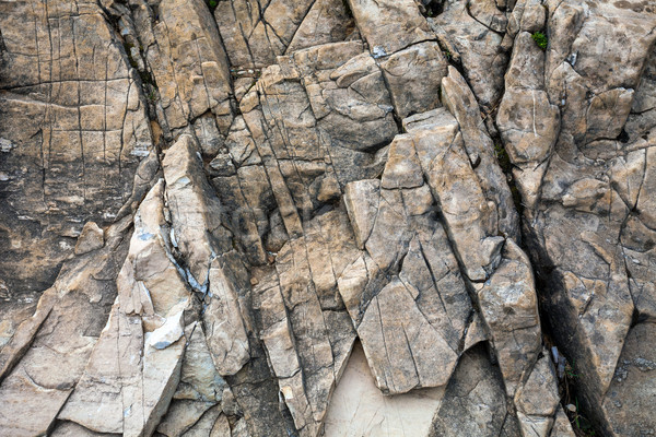 Cracked stone background Stock photo © pixachi