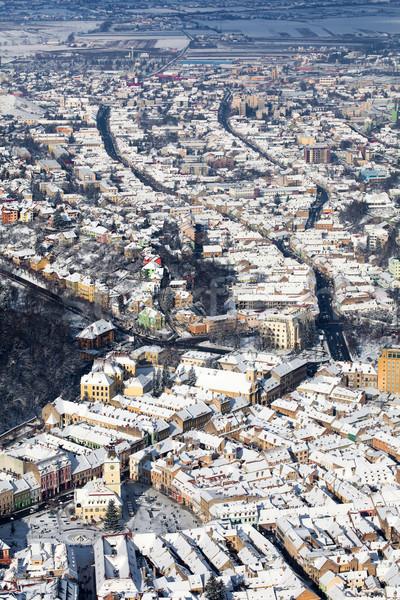Velho cidade panorâmico ver Foto stock © pixachi