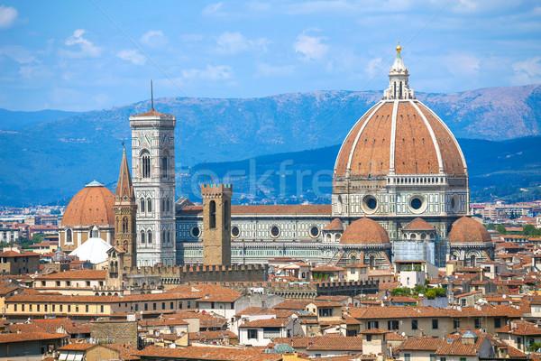 Флоренция собора Италия здании Сток-фото © pixachi