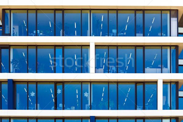 Modern office building detail Stock photo © pixachi