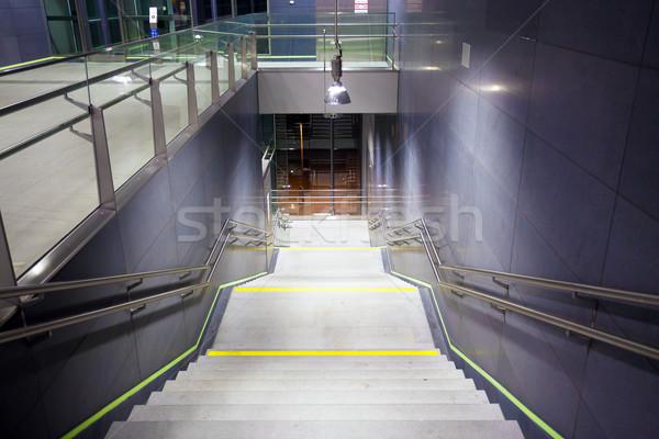Scala pubblico metro stazione Vienna Foto d'archivio © pixachi