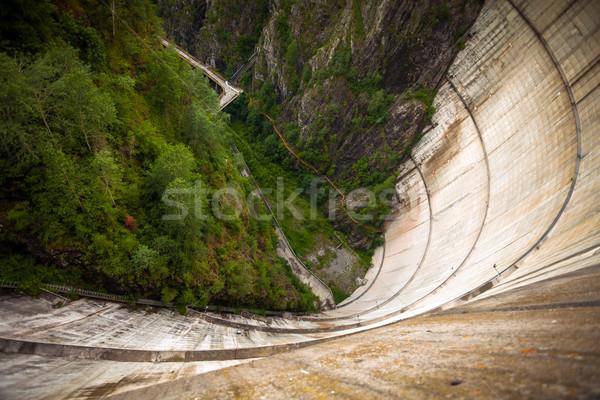 Top Румыния горные путешествия промышленности энергии Сток-фото © pixachi
