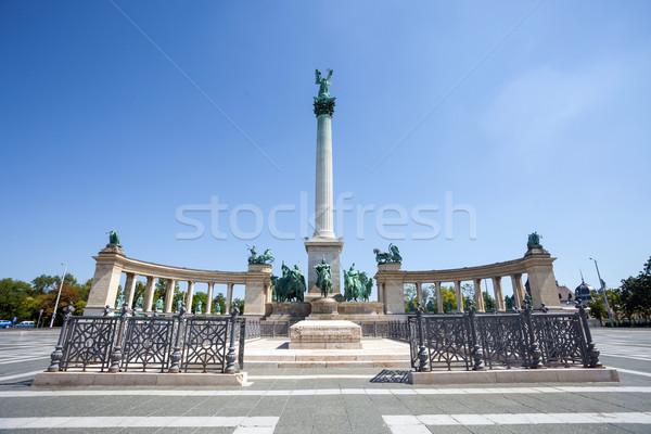 Будапешт комплекс Венгрия здании искусства архитектура Сток-фото © pixachi