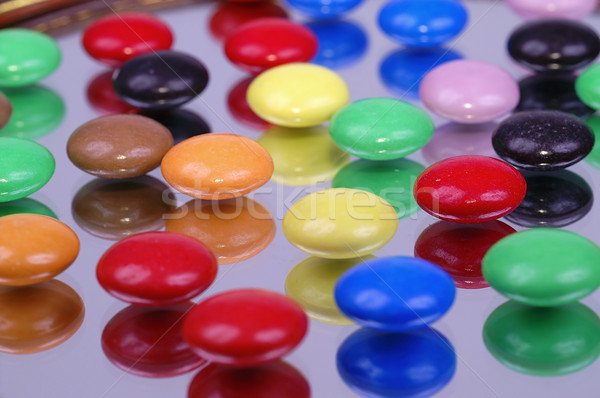 Doce colorido comida chocolate Foto stock © pixelman