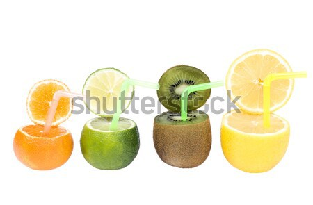 Colorful abstract fruit drink. Stock photo © pixelman