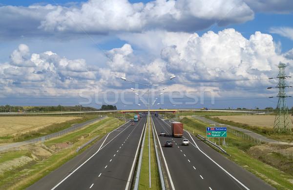 Autobahn Stock photo © pixelman