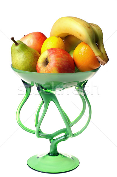 Frutas copo natureza fruto limão banana Foto stock © pixelman