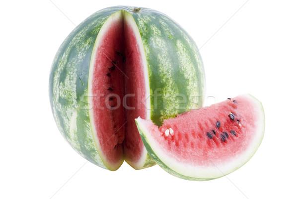 Karpuz yalıtılmış gıda meyve tropikal meyve suyu Stok fotoğraf © pixelman