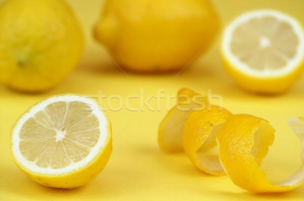Amarillo frutas naturaleza cal Foto stock © pixelman