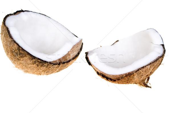 Coconut isolated Stock photo © pixelman