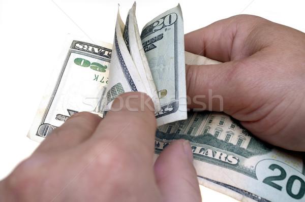 Count money Stock photo © pixelman