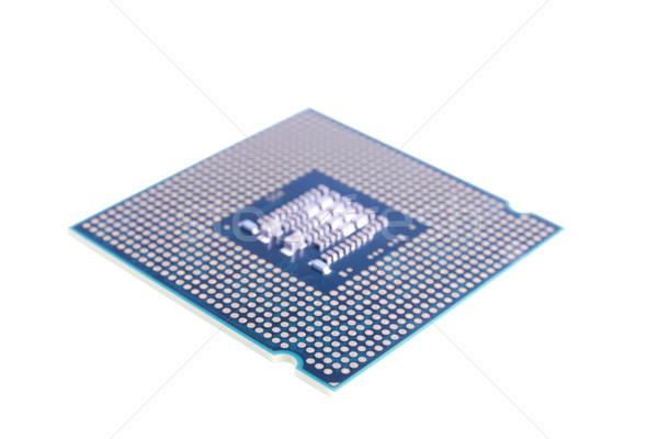 Bewerker achtergrond witte pad hardware cpu Stockfoto © pixelman