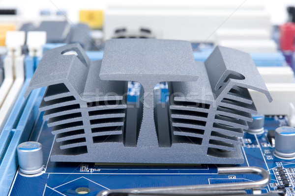 Cooler radiator Stock photo © pixelman