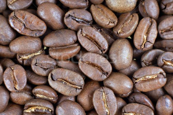 кофе коричневый кофе цвета бобов Сток-фото © pixelman