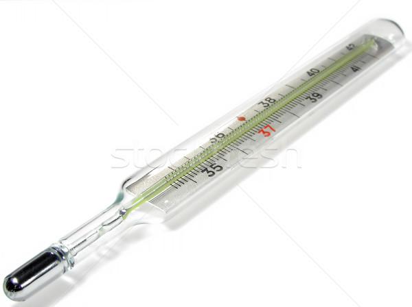 Termômetro isolado médico tubo fechar Foto stock © pixelman
