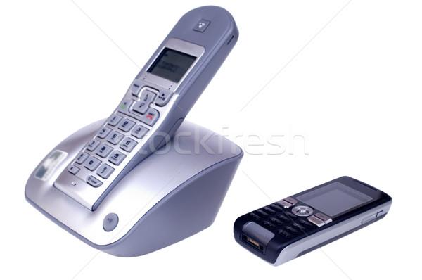 Wireless and mobile phones Stock photo © pixelman