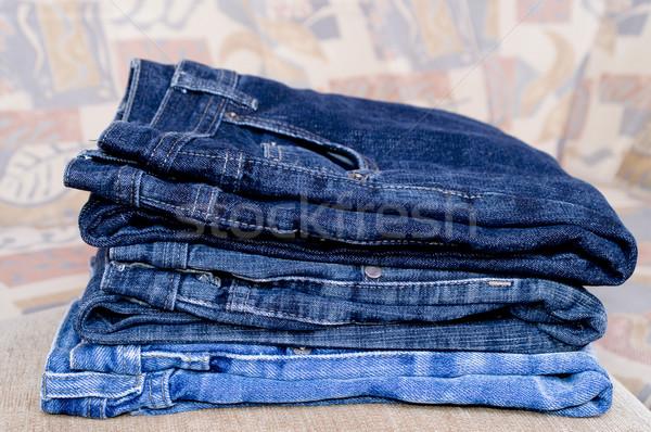 Pile trousers Stock photo © pixelman