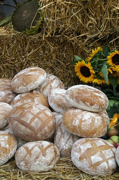 Round countru bread Stock photo © pixelman
