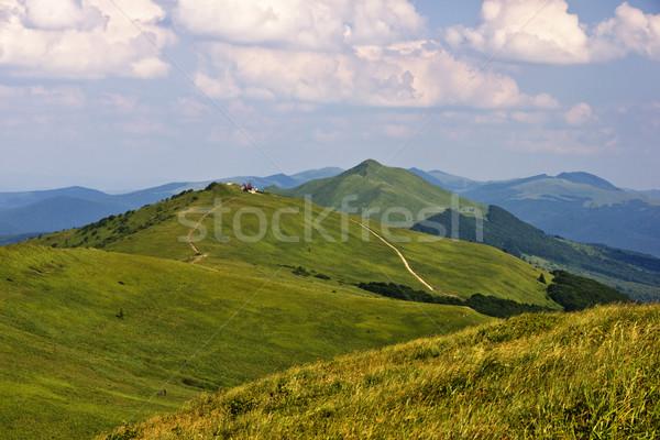 Shelter on mountain Stock photo © pixelman