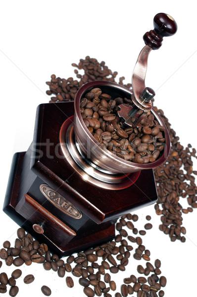 öğütücü kahve yalıtılmış mutfak kafe hayat Stok fotoğraf © pixelman