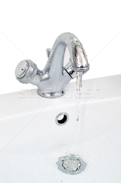 Tap and wash-basin Stock photo © pixelman