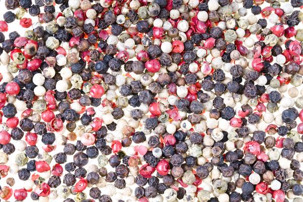 Cor comida fundo verde pimenta Foto stock © pixelman