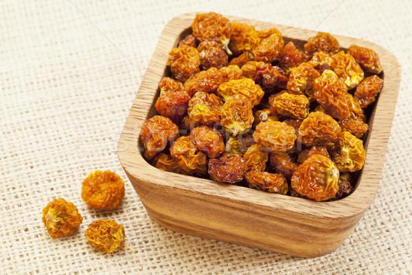 bowl of dried organic goldenberry Stock photo © PixelsAway