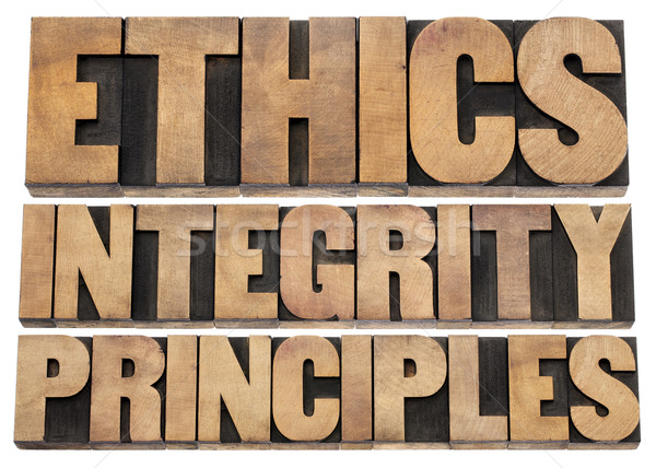 ethics, integrity and principles Stock photo © PixelsAway