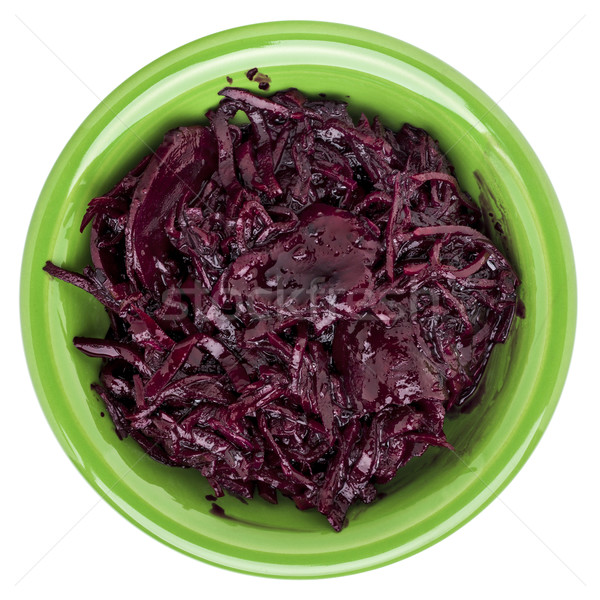 pickled beets, dulse and kale Stock photo © PixelsAway